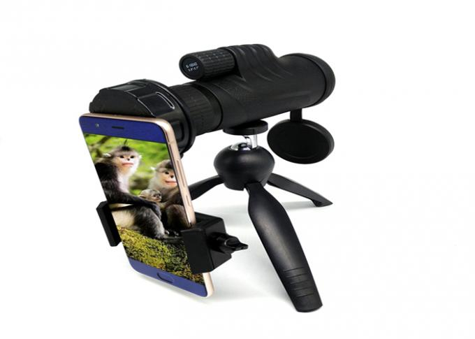 Pocket Lightweight Zoom 6-18x42 High Power Prism Monocular Telescope Stabilized