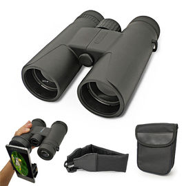 10x42 Black Compact High Power Binoculars Telescope For Adults Hunting / Traveling