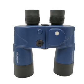 Professional 10x50 Compact Binoculars Compass Rangefinder Telescope With Wide View