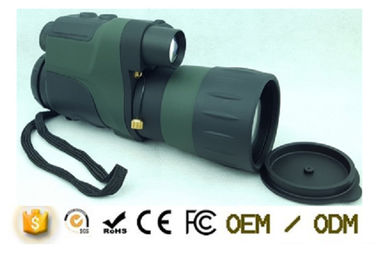 4X50 Handheld Military Night Vision Monocular Telescope With IR Device And Video Line