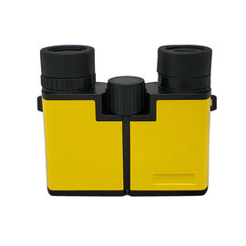 China 10x22 Yellow Kids Binoculars Plastic Bird Watching Binoculars Telescope supplier