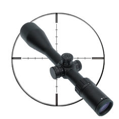Black 5 -25 X56 Day / Night Rifle Scope FFP Shock Proof 30mm Tube Diameter