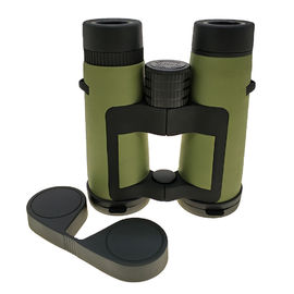 Green Waterproof Telescope Mini Binoculars 10x42mm Center Focus With Optical Performance
