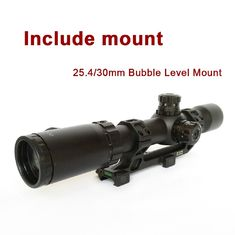 Professional Hunting Rifle Scope 1-12x30 Extended Eye Relief Long Range Shooting